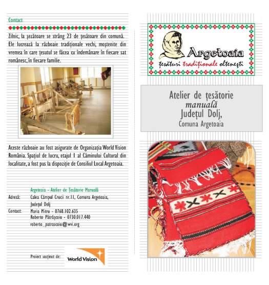 Brosura de prezentare Argetoaia pag.1-4