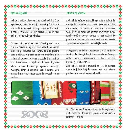 Brosura de prezentare Argetoaia pag.2-3